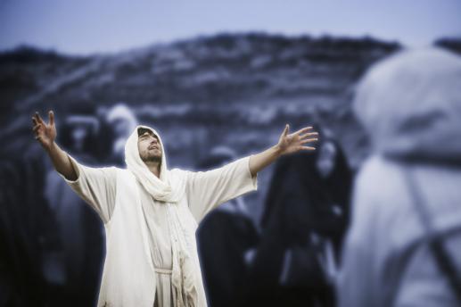 Modlitwa Jezusa - foto