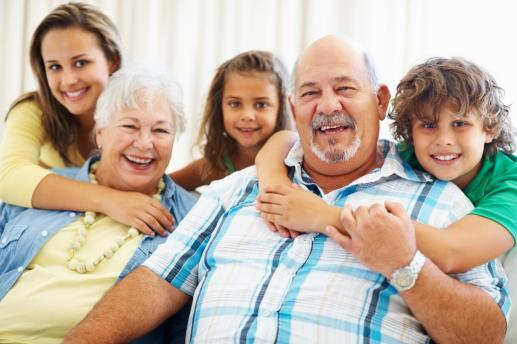 Rola dziadków w rodzinie  - foto