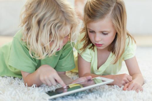 Tabletowe dzieci - foto