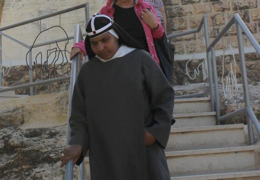 Św. Brygida szwedzka tęskniąca do Jezusa - foto