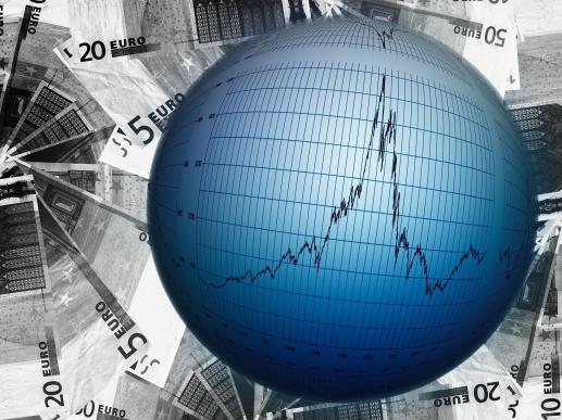 Panika na rynkach finansowych  - foto