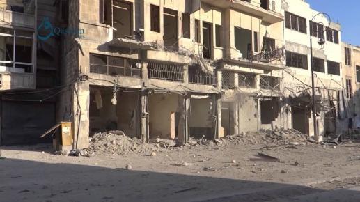 Masakra ludności cywilnej we Wschodniej Ghoucie - foto