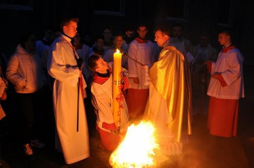 Światło w liturgii - foto