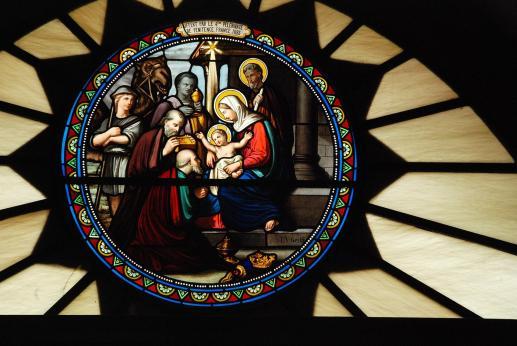 Z życia Najświętszej Maryi Panny. Ofiarowanie Pana Jezusa - foto