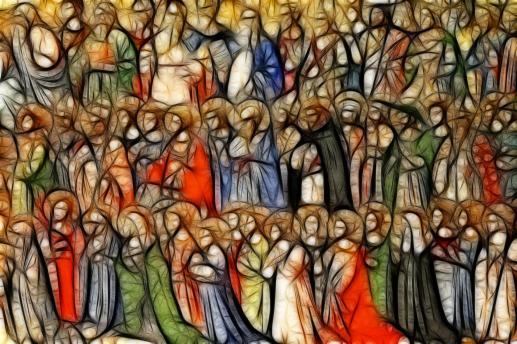 Blask świętego życia - foto