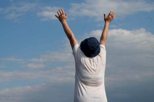 Modlitwy idą i wracają - foto
