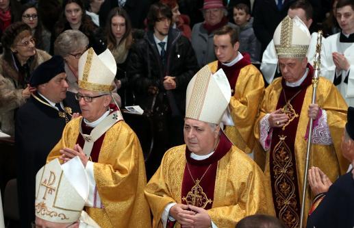 Biskup według Bergoglia - ten, który czuwa nad ludem - foto