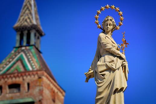 Maryja pierwsza została wzięta do nieba - foto