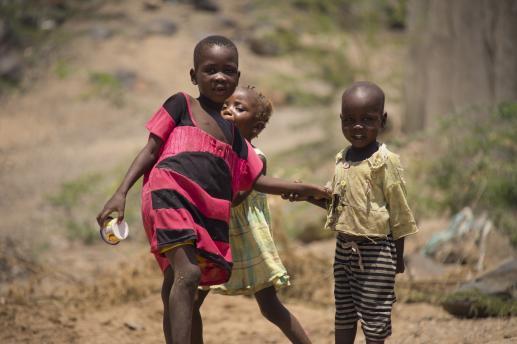 Epidemia głodu - foto