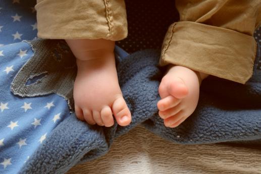 Małe stópki - foto