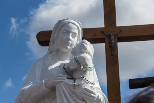 Z życia Najświętszej Maryi Panny. Maryjny punkt - foto