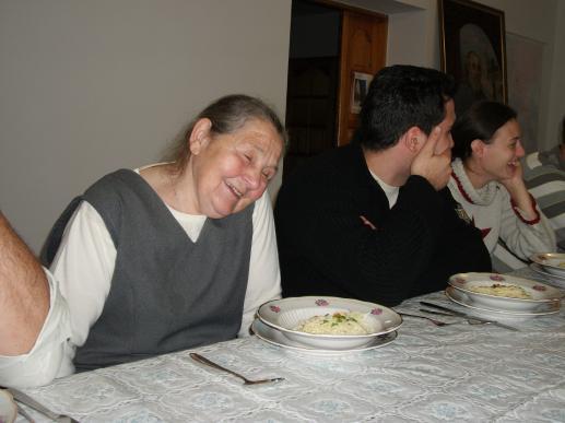 Przy stole z ubogimi - foto