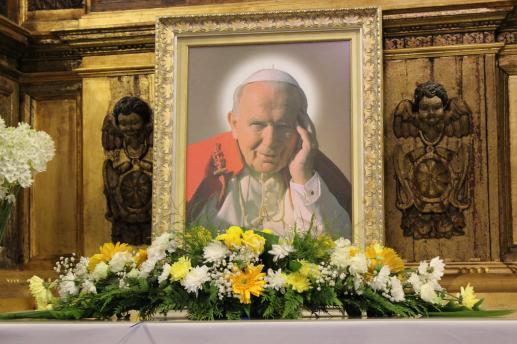Był blisko Jana Pawła II - foto