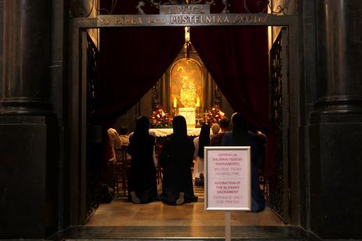 Z życia Najświętszej Maryi Panny. Znalezienie Pana Jezusa - foto