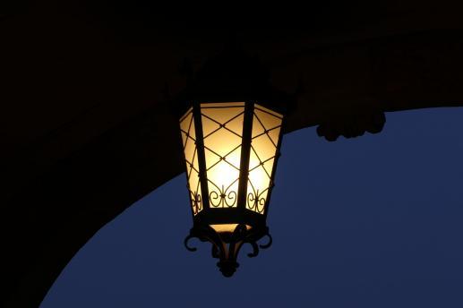 Olśniewająca ciemność nocy - foto