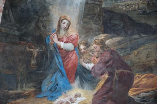 Z życia Najświętszej Maryi Panny. Narodzenie - foto