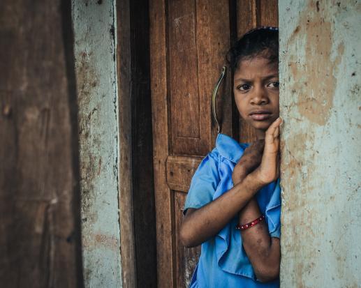 Wygłodzone dzieci jemeńskie - foto