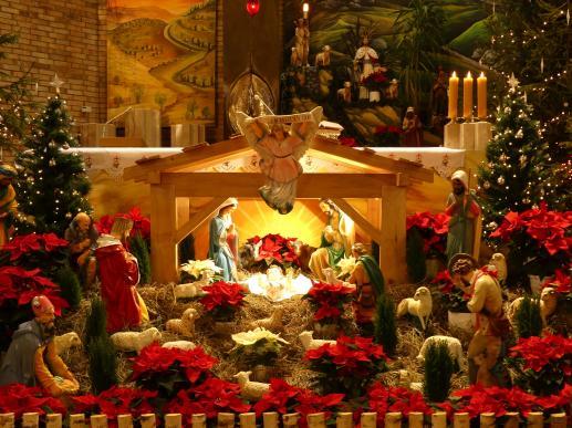 O narodzinach Jezusa, świętym Józefie i katalymie - foto