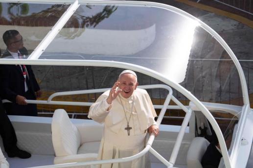 Młode serce Papieża - foto