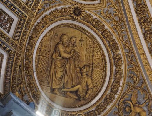 Jezus modli się za nas przed Ojcem, pokazując swoje rany - foto