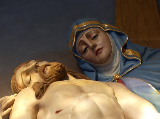 Matka Boża Bolesna - uczennica i matka - foto